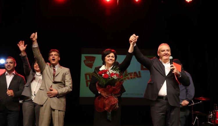 Корнелия Нинова в Монтана: Ще ви върнем достойнството, българи
